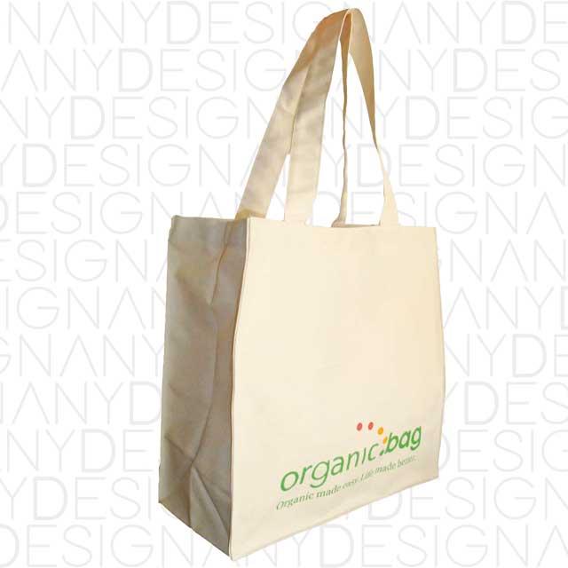 Produzione shopper in cotone organico