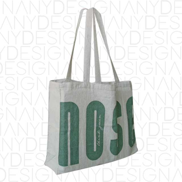 Produzione shopping bag in canapa