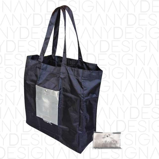 produzione borsa da spesa in poliestere ripiegabile personalizzata