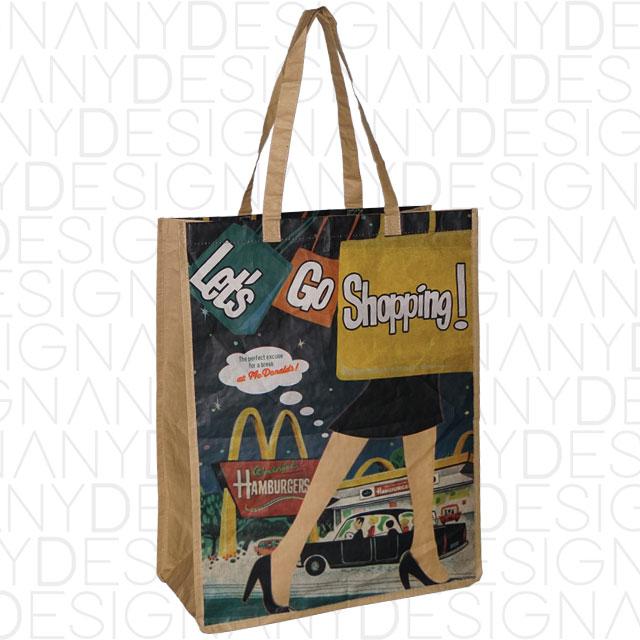 produzione di shopping bag in carta