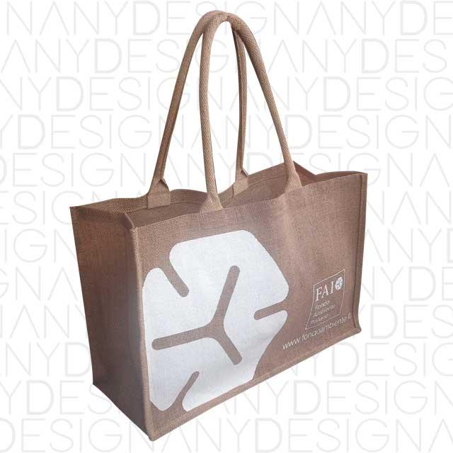 Produzione borse da spesa in iuta