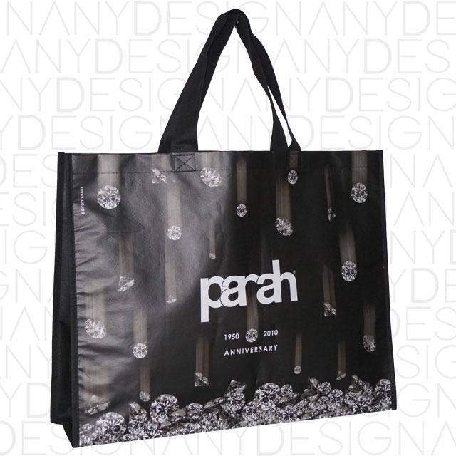 produzione shopping bag con laminazione opaca