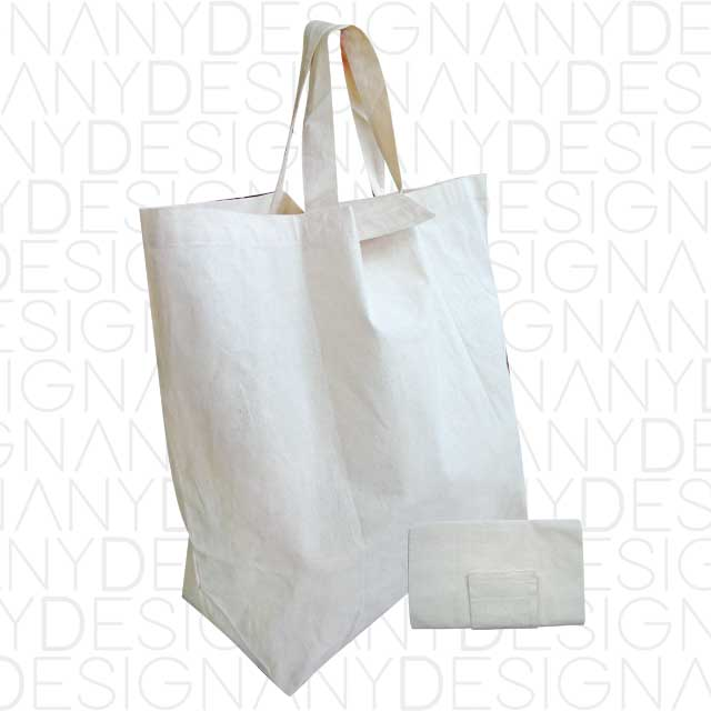 Produzione di shopper pieghevoli in cotone