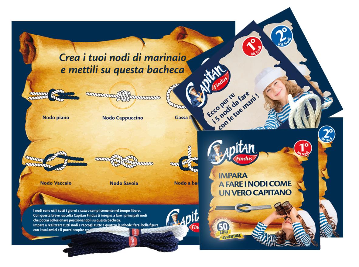 Produzione di packaging Capitan Findus