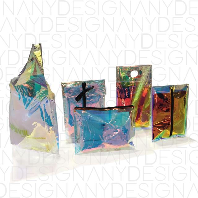 produzione di packaging olografico
