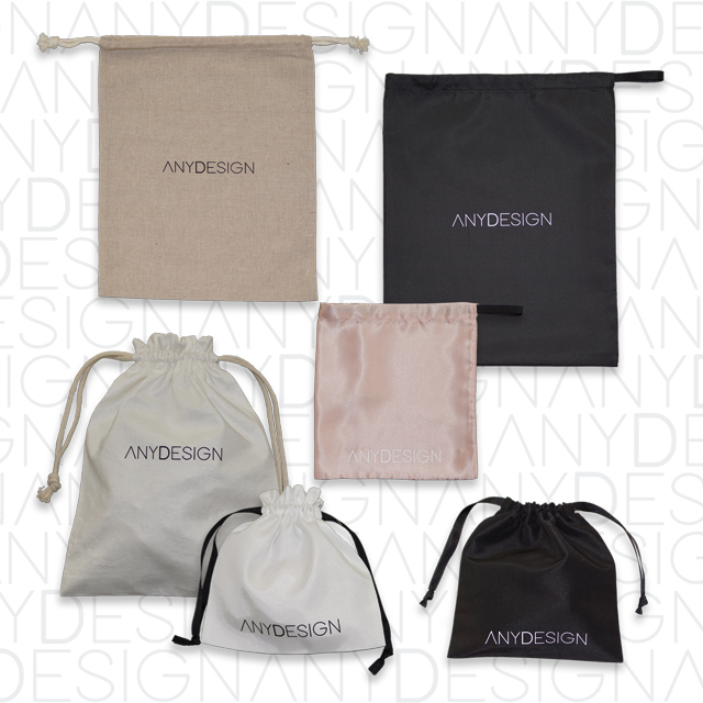 natural fabric packaging customized